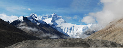 Everest Photos libres de droits