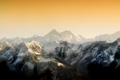 Everest Foto de Stock Royalty Free