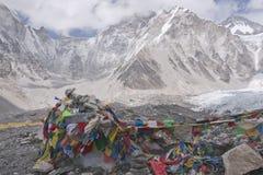 Everest Base Camp Stock Image