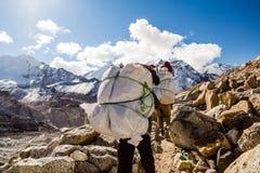 Everest Base Camp mountains landscape Royalty Free Stock Photo