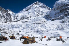 Everest Base Camp Royalty Free Stock Image