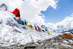 Everest Base Camp and tent Stock Images