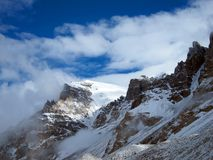 Everest Base Camp in Tibet Royalty Free Stock Images