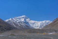 Everest base camp. Tibet side (North face side Stock Images