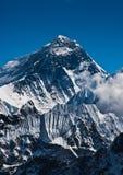 Everest bergmaximum eller Sagarmatha: 8848 M Fotografering för Bildbyråer
