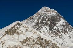 Everest bergmaximum 8848 M, högst maximum i världen, Nepal Royaltyfri Bild