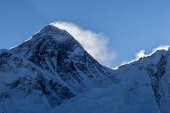Everest bergmaximum Sagarmatha, Chomolungma Royaltyfri Fotografi