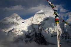 Everest da Kala Patthar Fotografia Stock Libera da Diritti