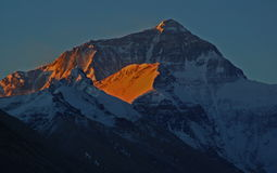 Everest  Daybreak Royalty Free Stock Photo