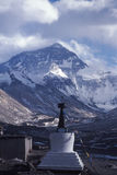 Everest en hiver Photo libre de droits