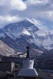 Everest en invierno Foto de archivo libre de regalías