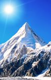 Everest för bergmaximum högst berg i världen Medborgare P arkivfoto