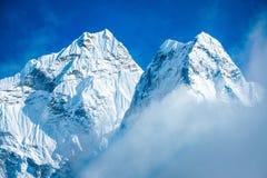 Everest Everest för bergmaximum högst berg i världen Na Royaltyfri Fotografi