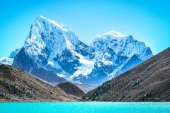 Everest Everest för bergmaximum högst berg i världen Na Arkivbilder