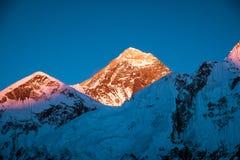 Everest Everest för bergmaximum högst berg i världen Na Royaltyfri Foto