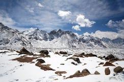 Everest Himalayan Range Stock Image