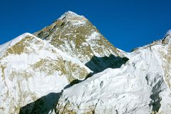 Everest from kala patthar Royalty Free Stock Photo