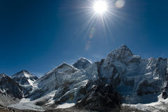Everest & Lhotse - Nepal Stock Images
