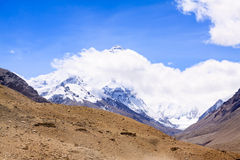 Everest mountain Royalty Free Stock Photo