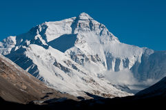 everest mt royaltyfria foton