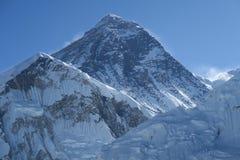 Everest-Nahaufnahme stockbilder