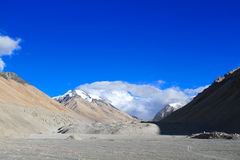 Everest Nature Reserve scenery Stock Image