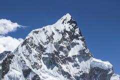 Everest Nepal Himalaya. Track Everest Nepal Himalaya Spring 2012 Royalty Free Stock Photo