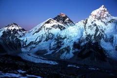 Everest and Nuptse Stock Photos