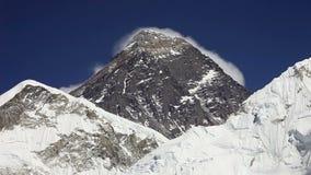 Everest, Nuptse and Lhotse stock video footage