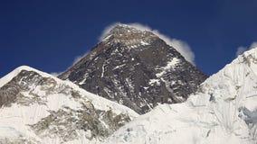 Everest, Nuptse and Lhotse stock video
