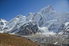 Everest,Nuptse and Lhotse viewed from Kala Pattar Royalty Free Stock Photos