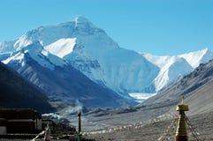 The Everest peak stock photography