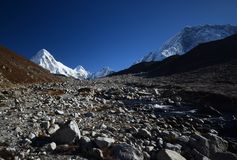 Everest peaks Stock Images