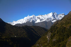Everest peaks Royalty Free Stock Photography