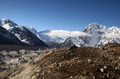 Everest peaks Royalty Free Stock Images