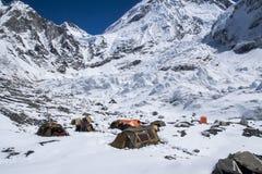 Everest Podstawowy obóz Obraz Stock