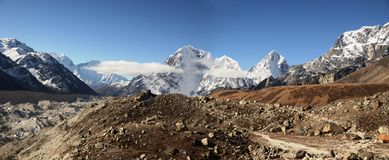 Everest ridge Royalty Free Stock Photo