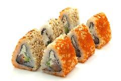 everest rullar sushi Arkivfoto