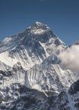 Everest summit captured from Gokyo Ri peak. In Himalayas, trekking in Nepal royalty free stock photos