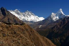 Everest trekking royalty free stock images