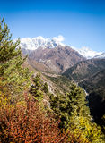Everest View Royalty Free Stock Photo