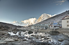 Everest village Royalty Free Stock Photo