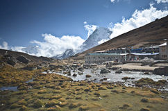 Everest village Royalty Free Stock Image