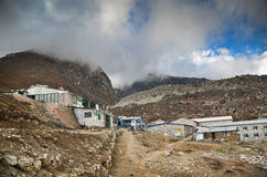 Everest village - Lobuche Royalty Free Stock Images