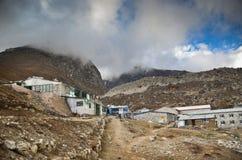 Everest village - Lobuche Royalty Free Stock Images