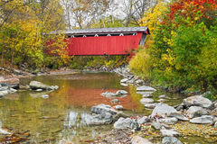 Everett Covered Bridge Royalty-vrije Stock Foto's