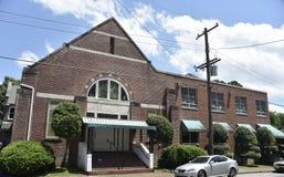 Everett pomnika Zlany kościół metodystów, Memphis, Tennessee zdjęcie royalty free