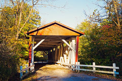 Everett Straßen-überdachte Brücke Lizenzfreie Stockfotografie