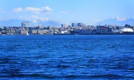 Everett Washington Skyline fotografering för bildbyråer