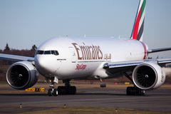 Emirates Boeing 777F Cargo Stock Images